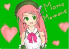 How to Draw Momo Momone from UTAU
