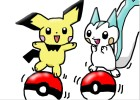 how to draw Pichu and pachirisu is above the pokeb