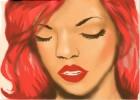 How to Draw Rihanna
