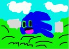 Sonic Kirby In a Bush
