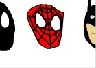 Spider-man, The Black Spider-man, and Batman