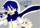 How to draw Kaito