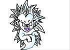 How To Draw Kamikazi Gotenks Ssj3