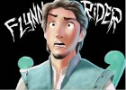 how to draw flynn rider