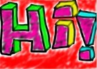 3D Letters! :3