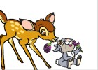 How to Draw Bambi And Thumper