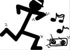 Stick Man Dancer