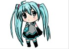 How to Draw Chibi Miku