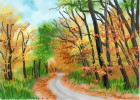 How to Draw Autumn Trees