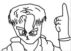 How to Draw Trunks 10 Years