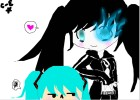 How to Draw Blackrockshooter And Miku