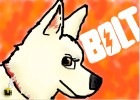 How to draw Bolt the super dog