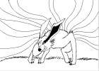 How to draw the Nine- Tailed fox