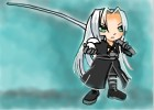 How to Draw Chibi Sephiroth