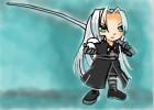 How to Draw Chibi Sephiroth