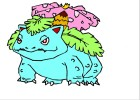 How to draw Venusaur