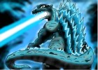 Godzilla In Blue Light