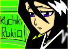 how to draw kuchiki rukia