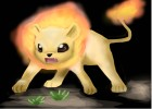 How to draw a fire lion