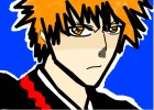 how to draw ichigo kurasaki