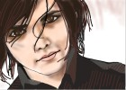 How to Draw Gerard Way from My Chemical Romance