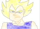 How to Draw: Super Saiyan Vegeta (Majin Buu Saga)