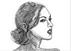 How to Draw Megan Fox