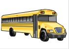 How to draw a bus