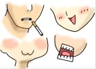 How to draw anime mouths