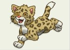 How to Draw Baby Jaguar from Go Diego Go