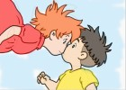 How to Draw Anime People Kissing