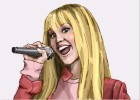 How To Draw Miley Cyrus as Hannah Montana