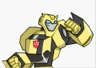 How To Draw Bumblebee Autobot From Transformers