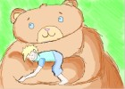 How to Draw Teddy Bear And His Friend