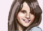 How to Draw Selena Gomez from Wizards of Waverly Place