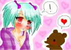 Girl And Bear-- Super Kawaii~!
