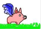 Fliing Piglet