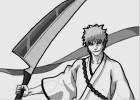 How to Draw Hollow Ichigo or Ichigo Kurosaki from Bleach