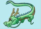 How to Draw a Cartoon Dragon