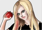 How to draw Avril Ramona Lavigne Whibley