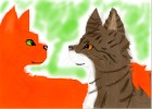 How to draw Squirrelflight and Leafpool