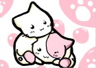 how to draw chibi kittens or anime kittens