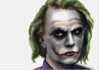 How To Draw Heath Ledger As The Joker from Dark Knight