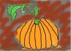 Halloween 3D Pumpkin