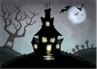 How to Draw a Spooky Cartoon House