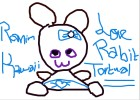 kawaii rabbit tortual