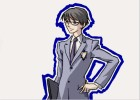 How to draw Kyoya Ootori from Ouran High School Host Club