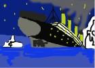 How to Draw Titanic Sinking Tutorial