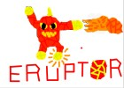 How to draw eruptor!