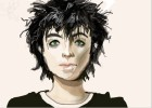 How to draw Billie Joe Armstrong from Green Day